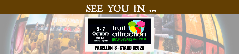 See you in Fruit Attraction